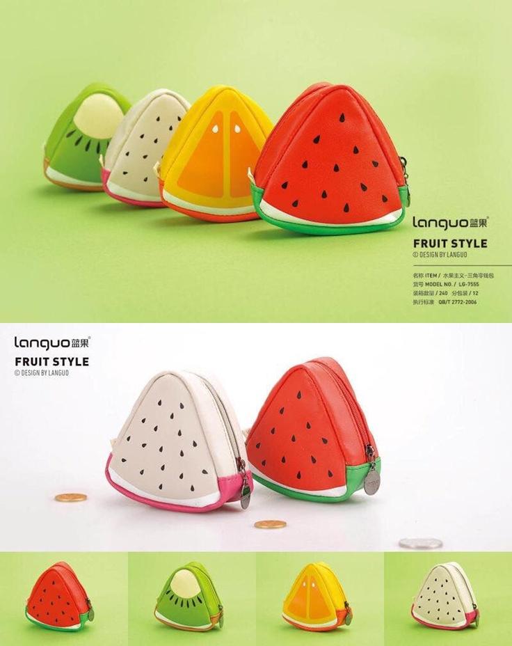 水果主义三角零钱包